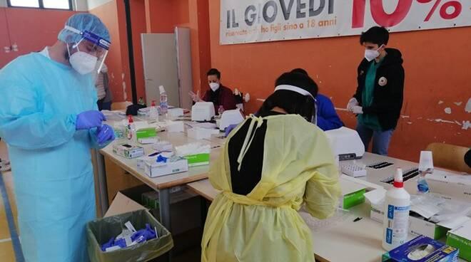 test coronavirus parco leonardo