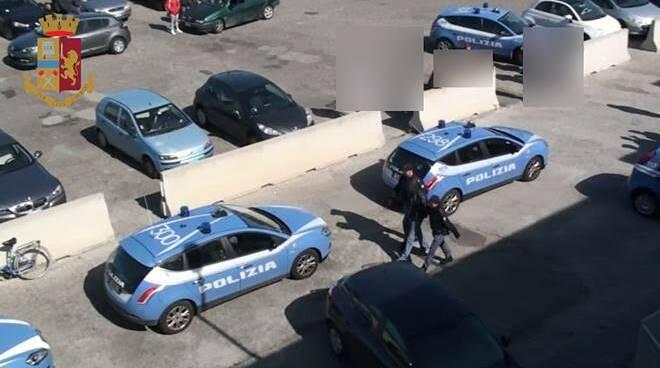 arresto polizia nettuno