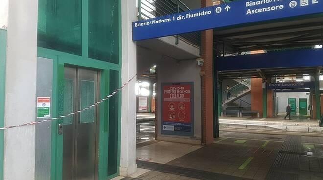 ascensore stazione parco leonardo