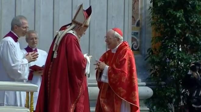 cardinal re papa francesco