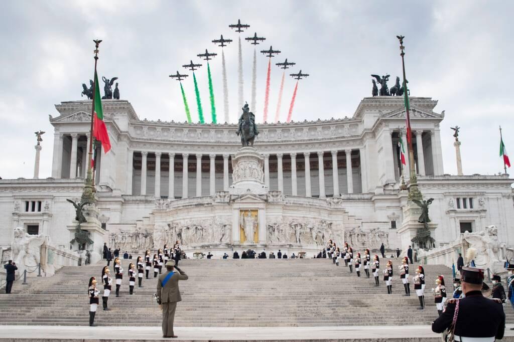 cerimonia 4 novembre 2020 altare della patria milite ignoto