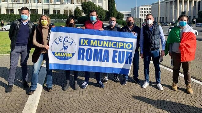 flash mob lega eur