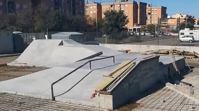 lavori skate park ostia