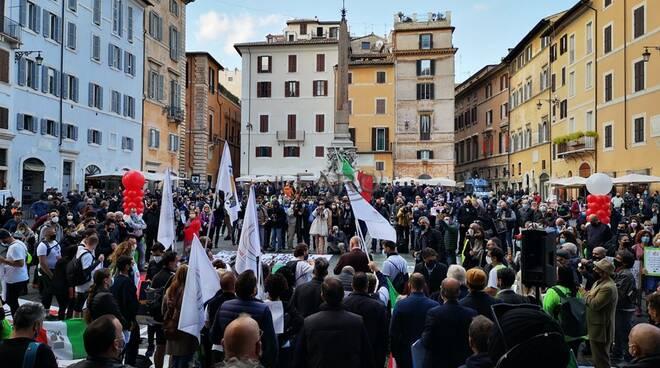 marcia ristoratori toscani da firenze a roma a piedi protesta contro dpcm conte