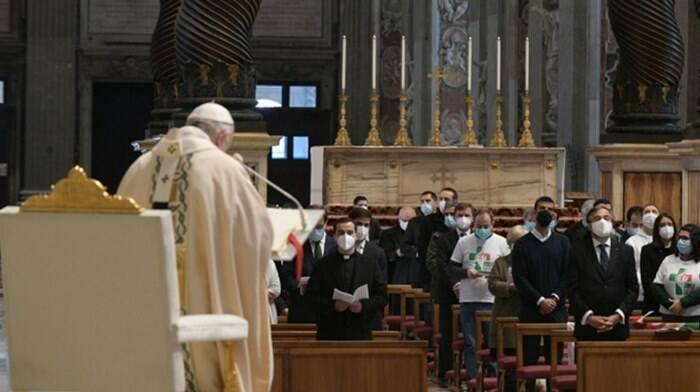 messa papa francesco cristo re gmg