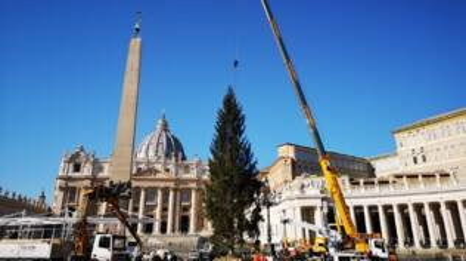 Natale Piazza San Pietro