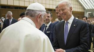 papa francesco joe biden
