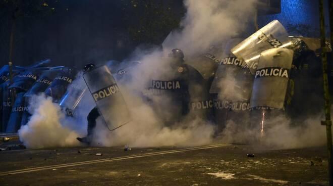 Protesta Perù