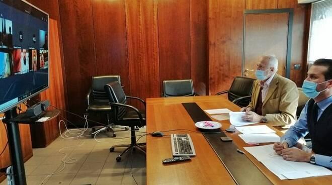 riunione tassisti fiumicino