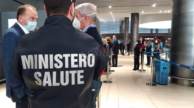 aeroporto di Fiumicino, volo covid free