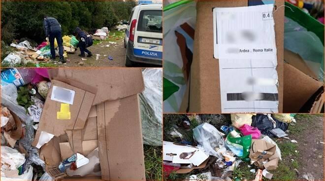 discarica abusiva via Pisa