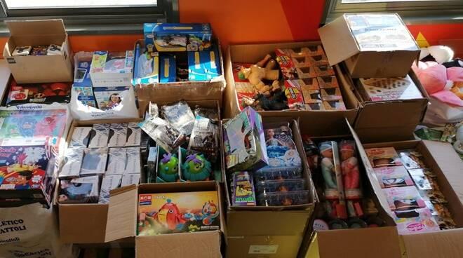 giocattoli donati dal comune di cerveteri