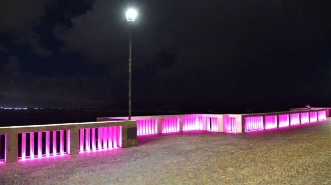 illuminazione capodanno pontile ostia
