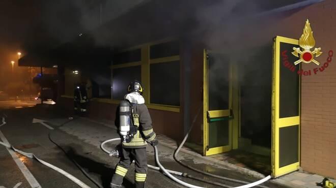 incendio eurospin acilia