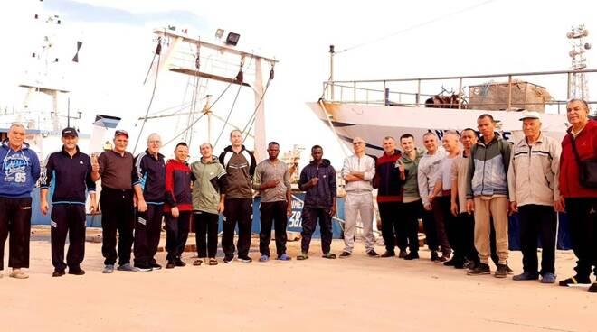 liberazione pescatori italiani libia