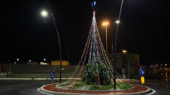 Natale lungomare della Salute Fiumicino