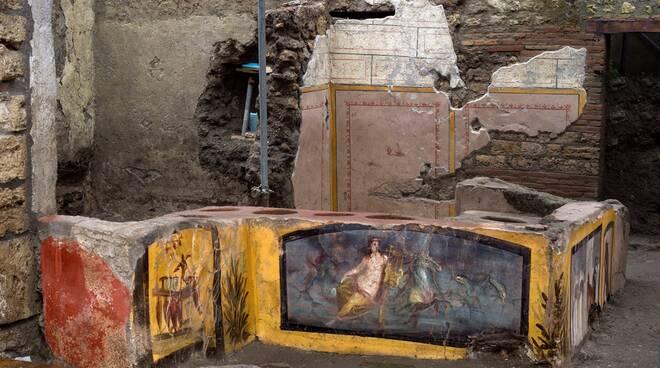 pompei termopolio intatto bottega street food antica roma