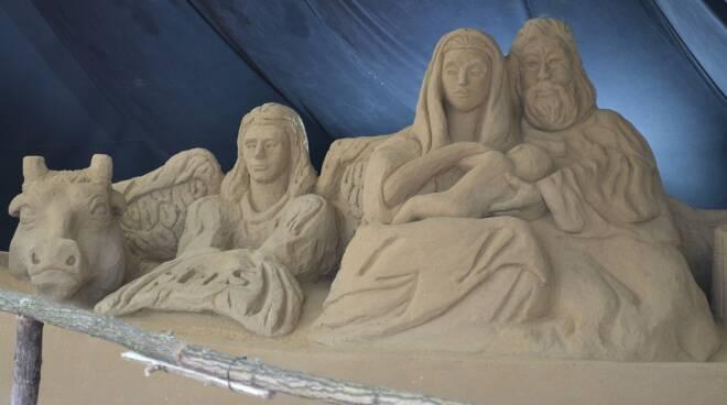 Presepe di sabbia Torvaianica