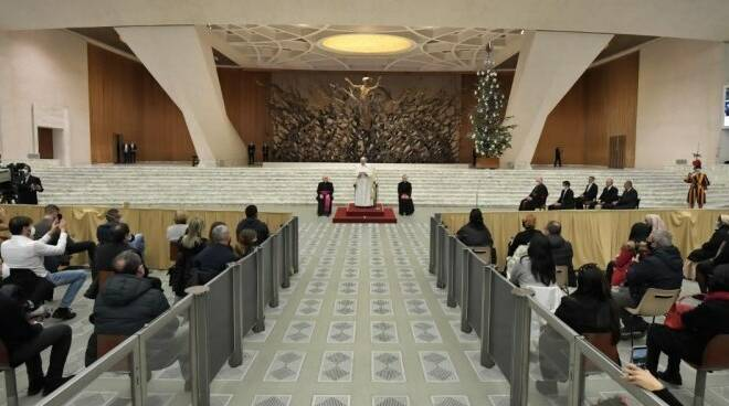 udienza papa dipendenti vaticano