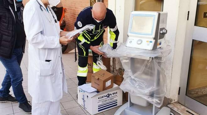 ventilatore pediatrico ospedale Formia
