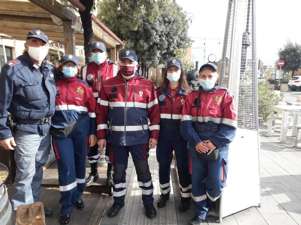 volontari fiumicino