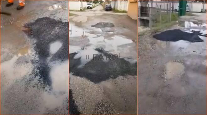 asfalto passo della sentinella