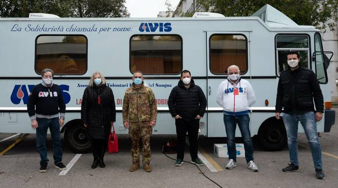 donazione sangue aeronautica militare Latina