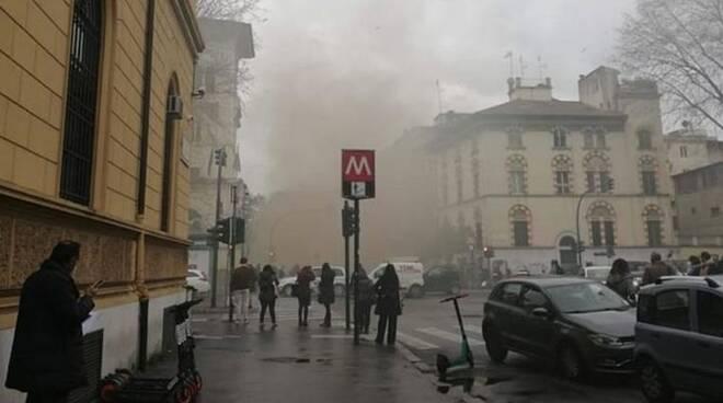 esplosione roma
