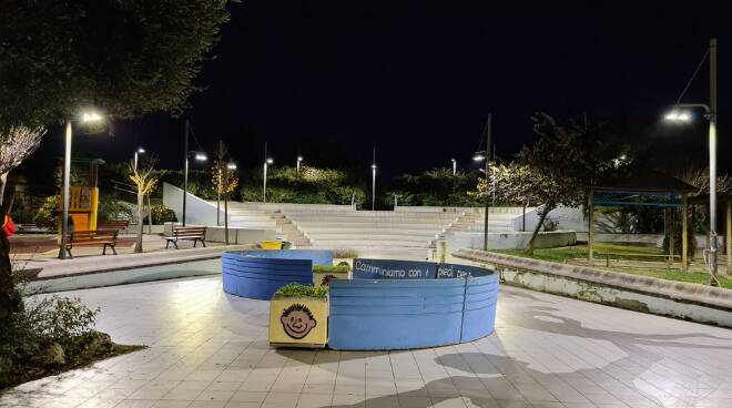 parco giochi Anzio