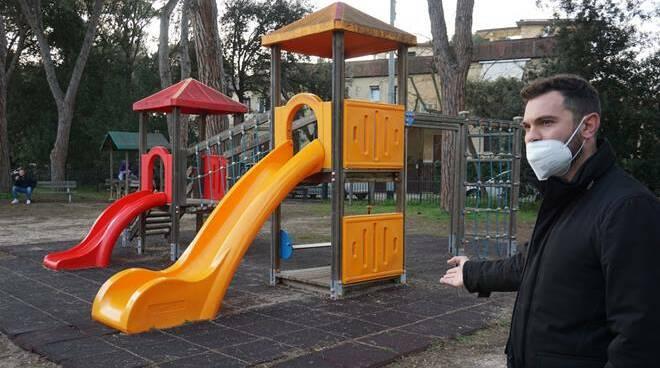 parco giochi Fregene