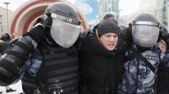 protesta Russia