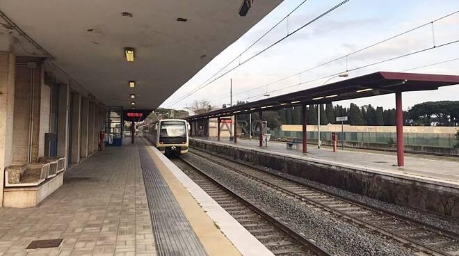 roma lido stazione ostia antica