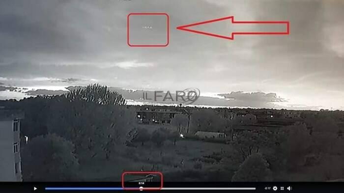 ufo litorale romano