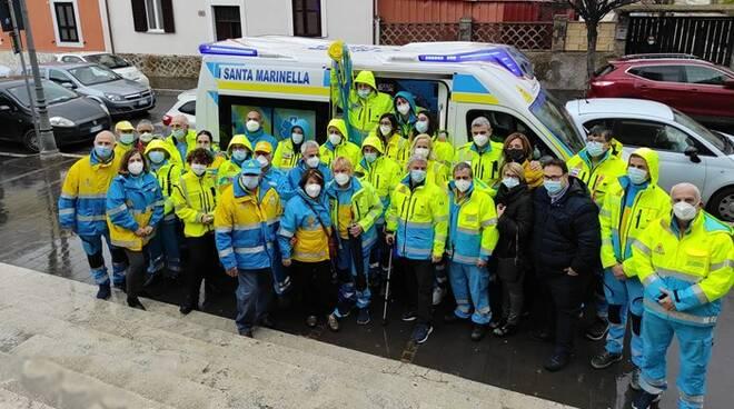 ambulanza misericordia santa marinella