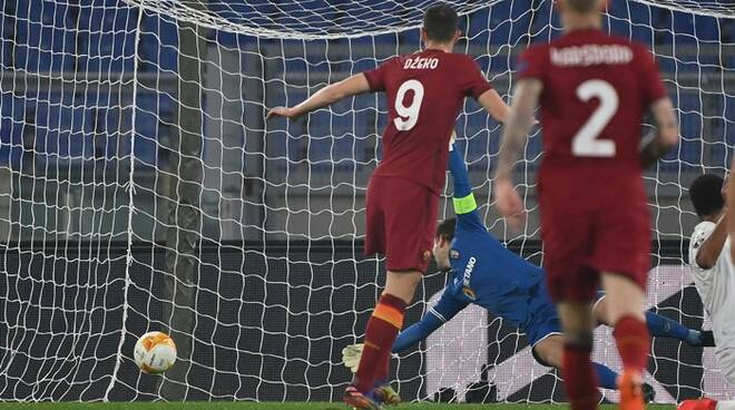 as roma dzeko europa league