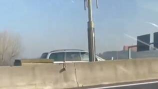 auto contromano autostrada roma fiumicino