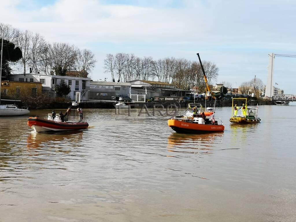 marine litter inquinamento rifiuti fiumicino tevere