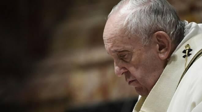 messa candelora papa francesco suore covid