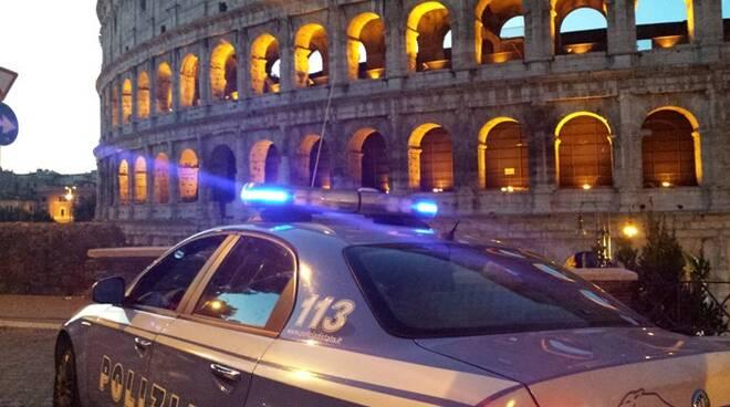 polizia roma colosseo
