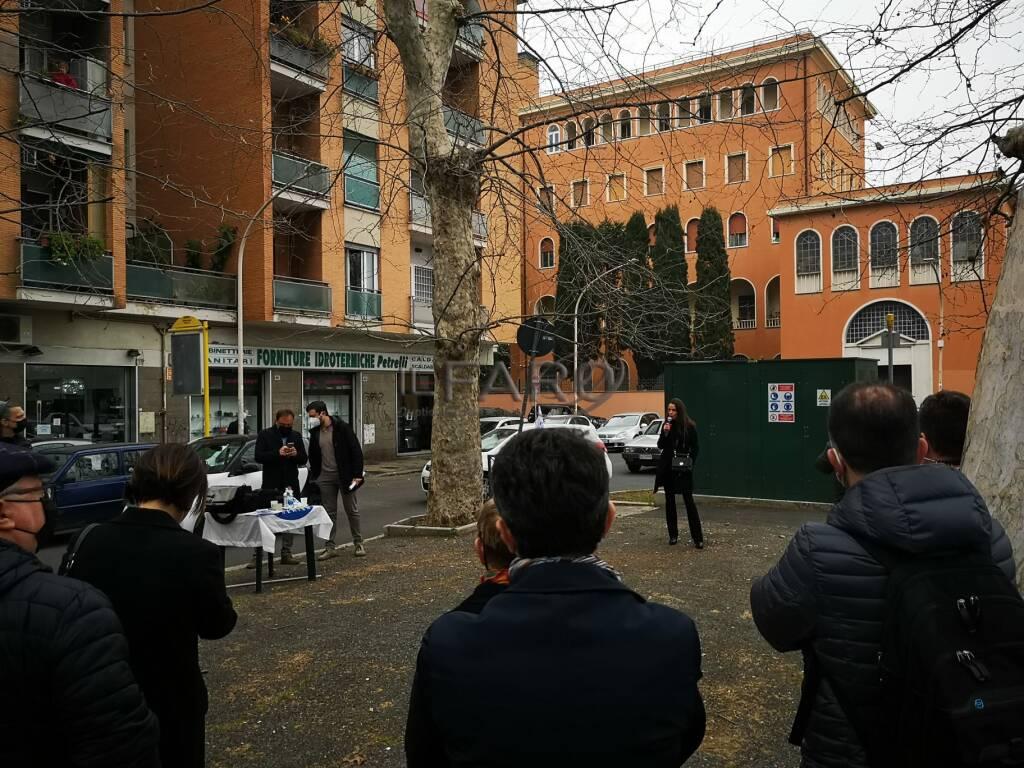 progetto giardino ricordo vittime crollo via vigna jacobini roma