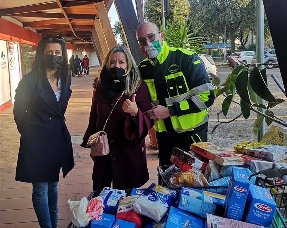 raccolta alimentare protezione civile cerveteri
