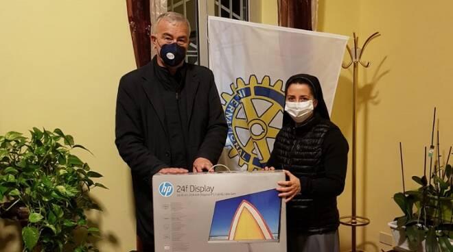 Rotary club donazione Anzio