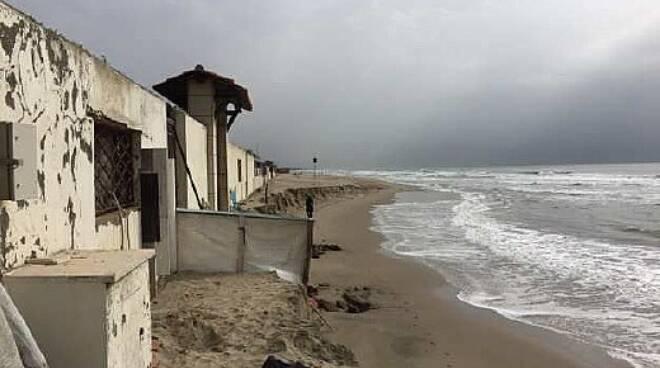 Torvaianica erosione spiaggia