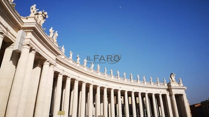 vaticano colonnato san pietro bernini