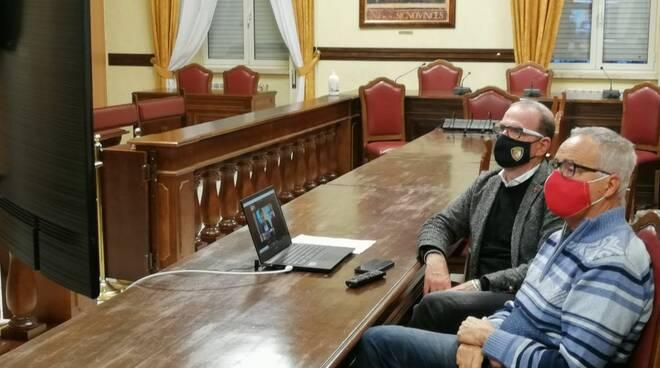 videoconferenza Rio Pontone