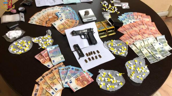 arresti polizia Roma