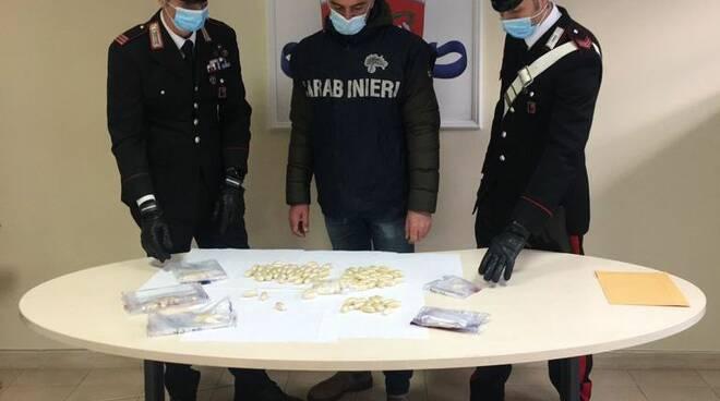 arresto droga fiumicino aeroporto