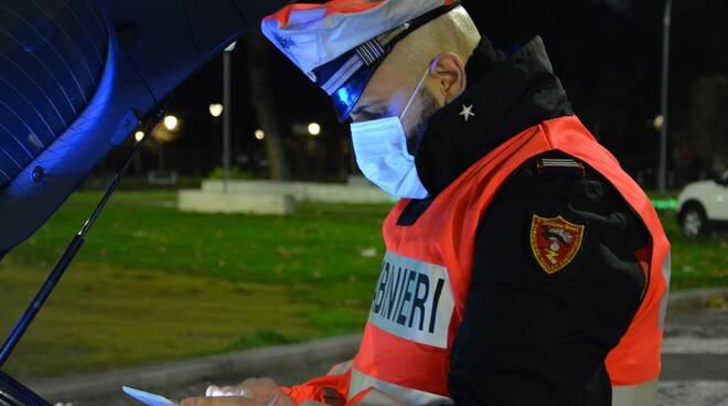 controlli carabinieri roma coronavirus
