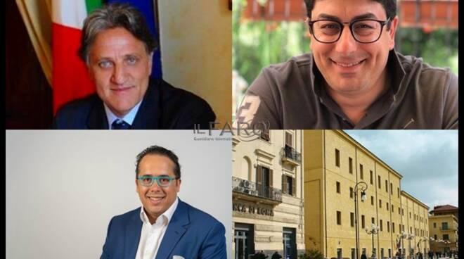 Gianfranco Conte, Gianluca Taddeo e Pasquale Cardillo Cupo