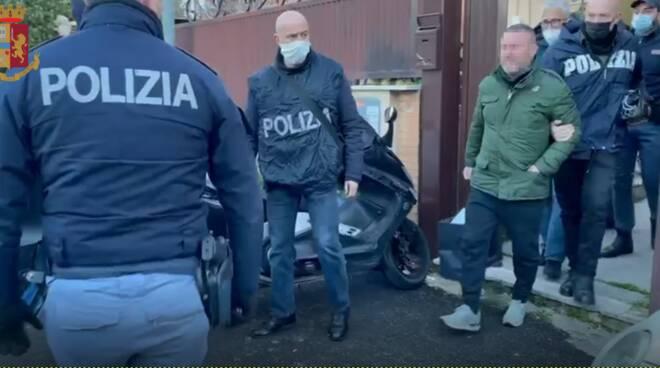 mafia roma, squadra mobile